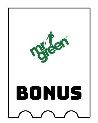 Latest bonus spins from Mr Green Casino