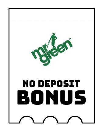 Mr Green Casino - no deposit bonus CR