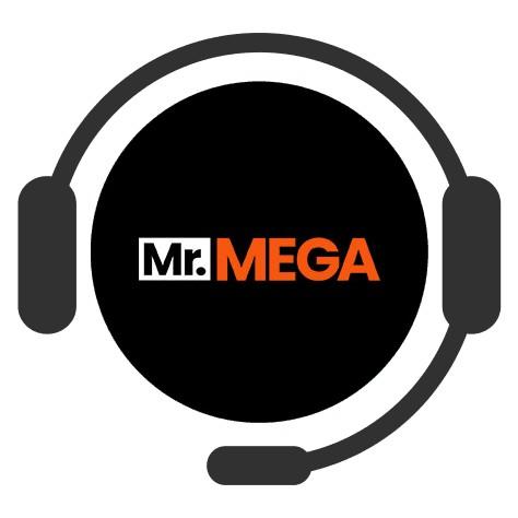 Mr Mega - Support