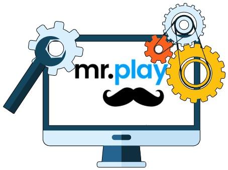 Mr Play Casino - Software
