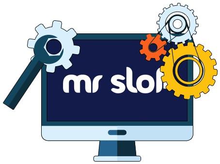 Mr Slot Casino - Software