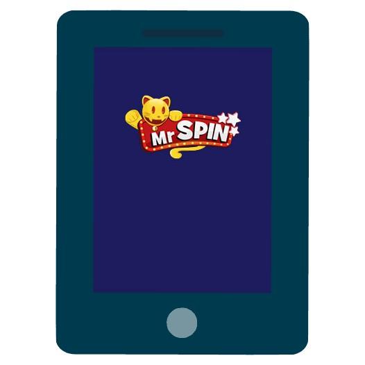 Mr Spin Casino - Mobile friendly