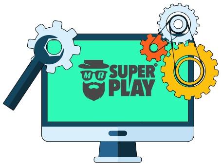 Mr SuperPlay Casino - Software