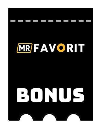 Latest bonus spins from MrFavorit