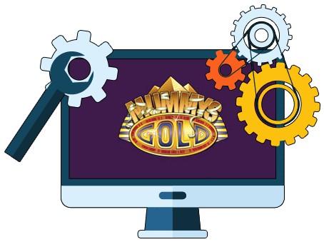Mummys Gold Casino - Software