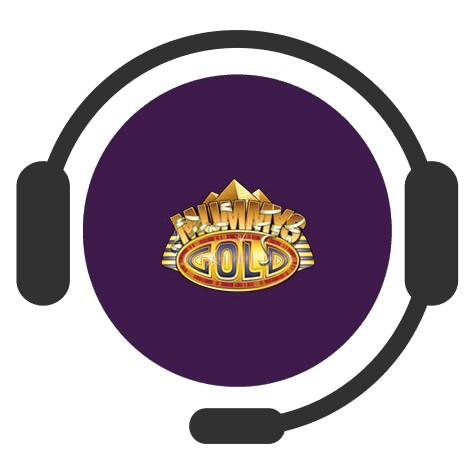 Mummys Gold Casino - Support
