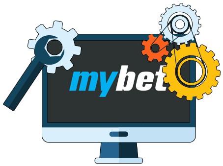 Mybet Casino - Software