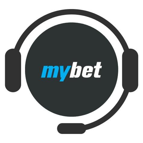 Mybet Casino - Support