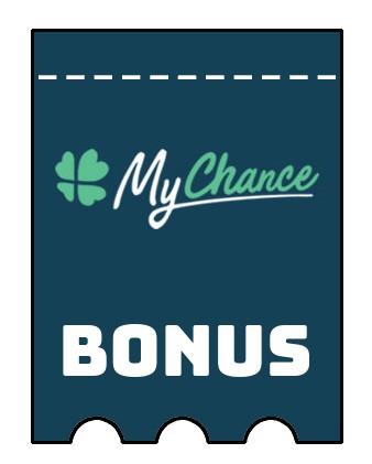 Latest bonus spins from MyChance Casino