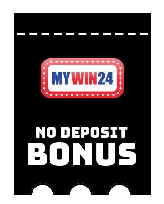 MyWin24 Casino - no deposit bonus CR