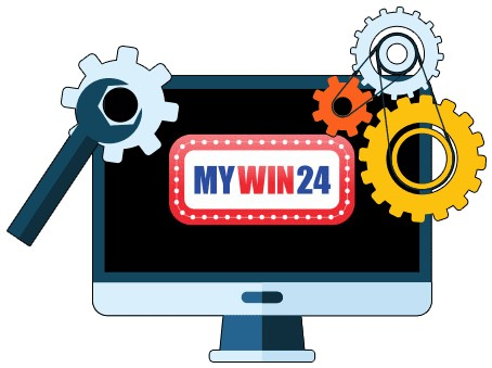 MyWin24 Casino - Software