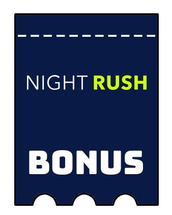 Latest bonus spins from NightRush Casino