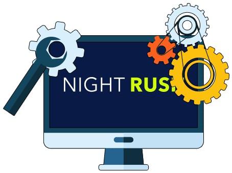 NightRush Casino - Software