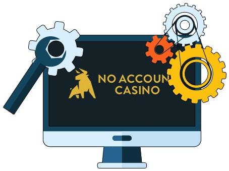 No Account Casino - Software