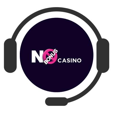 No Bonus Casino - Support