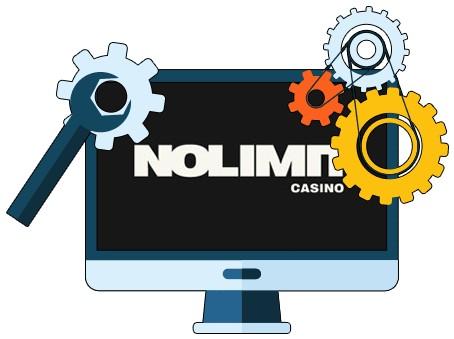 No Limit Casino - Software