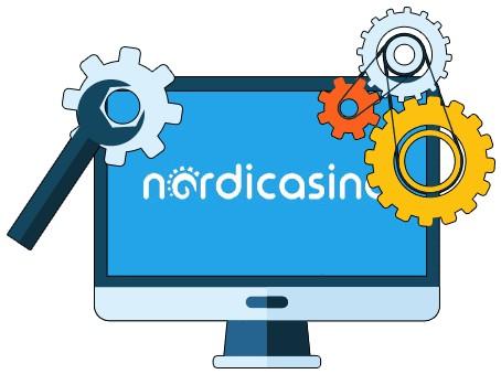 Nordicasino - Software
