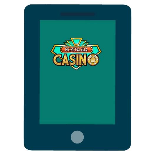 Nostalgia Casino - Mobile friendly