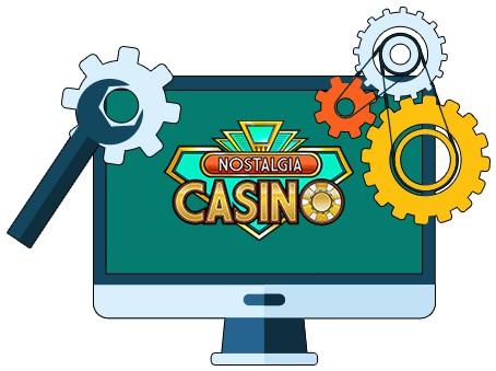 Nostalgia Casino - Software