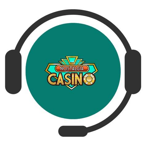 Nostalgia Casino - Support