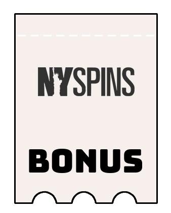 Latest bonus spins from NYSpins Casino