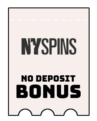 NYSpins Casino - no deposit bonus CR