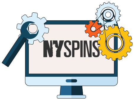 NYSpins Casino - Software