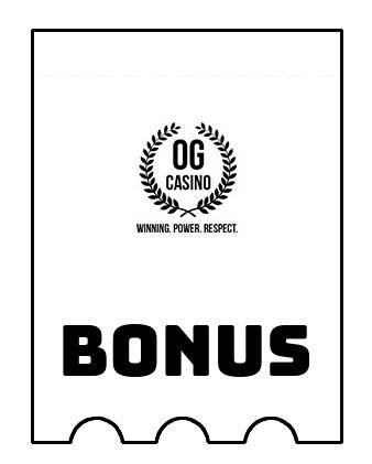 Latest bonus spins from OG Casino