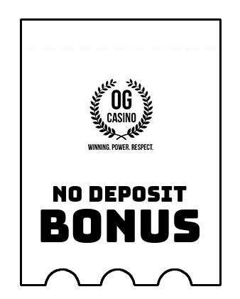 OG Casino - no deposit bonus CR