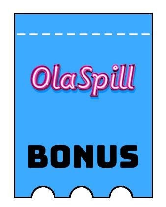 Latest bonus spins from OlaSpill Casino
