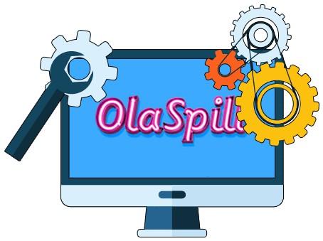 OlaSpill Casino - Software