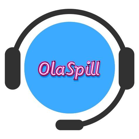 OlaSpill Casino - Support