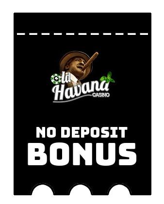 Old Havana - no deposit bonus CR