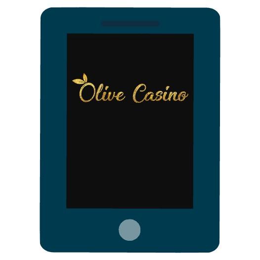 Olive Casino - Mobile friendly