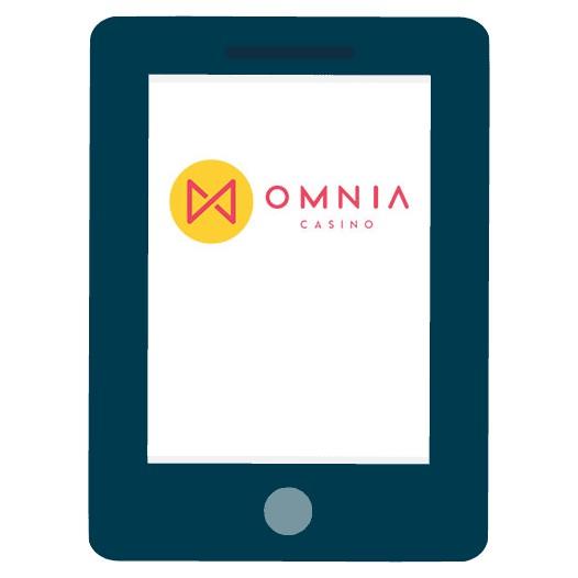 Omnia Casino - Mobile friendly