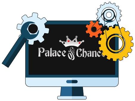 Palace of Chance Casino - Software