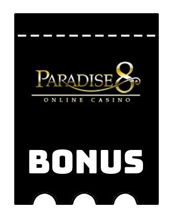 Latest bonus spins from Paradise 8