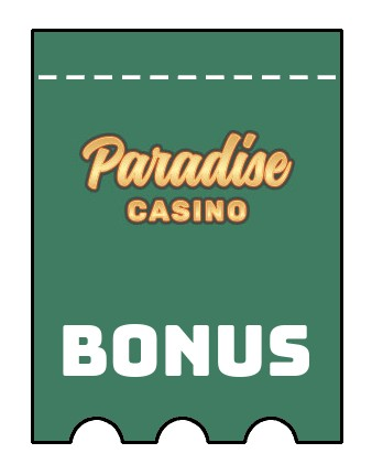 Latest bonus spins from Paradise Casino