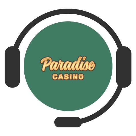 Paradise Casino - Support