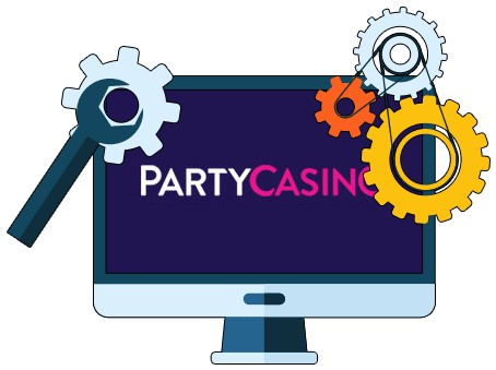 PartyCasino - Software