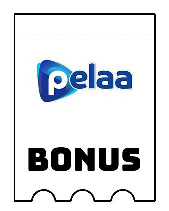 Latest bonus spins from Pelaa Casino