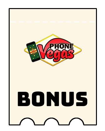 Latest bonus spins from Phone Vegas Casino