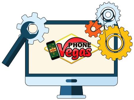 Phone Vegas Casino - Software