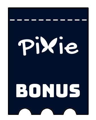 Latest bonus spins from Pixie