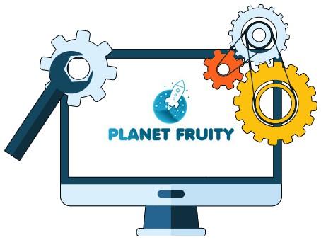 Planet Fruity Casino - Software