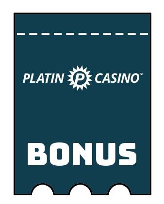 Latest bonus spins from Platin Casino