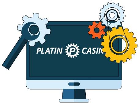 Platin Casino - Software