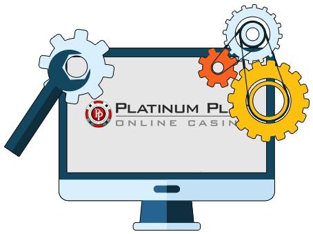 Platinum Play Casino - Software