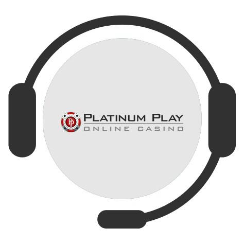 Platinum Play Casino - Support