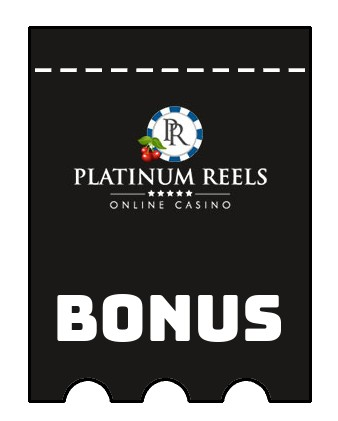 Latest bonus spins from Platinum Reels